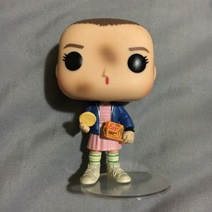 Stranger things Eleven with eggos funko pop